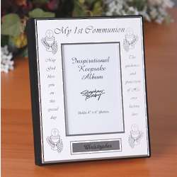 My First Communion Engraved Photo Album