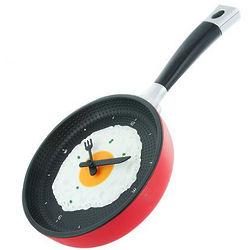 Eggscellent Frying Pan Wall Clock