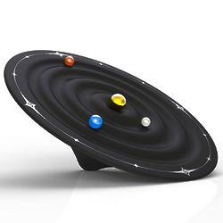 Galaxy Suspension Time Clock