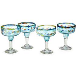 Recycled Verano Margarita Glasses