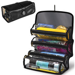 Roll Up Cosmetic Organizer