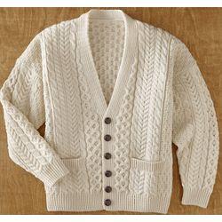 Inishmore Merino Wool Cardigan