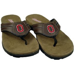 Ohio State Buckeyes Pre-Game Flip Flops