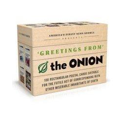 """The Onion"" Postcard Box"