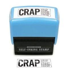 Crap Self-Inking Stamp