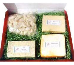 Havarti, Dill Havarti, Muenster and Cheese Curds Box