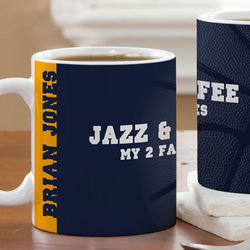 NBA Basketball Personalized Coffee Mug