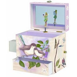 Girl's Musical Fairy Jewelry Box