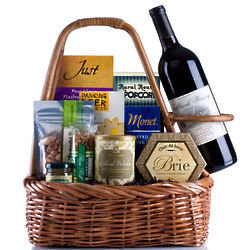 Wine Tote Gift Basket