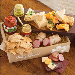 Grand Deluxe Sausage, Cheese and Crackers Gift Box