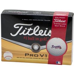 Personalized Atlanta Braves Golf Balls