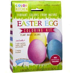 Natural Easter Egg Coloring Kit