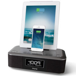 iPad and iPhone Charging Clock Radio