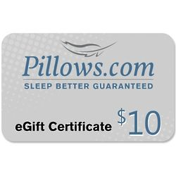 $10 Pillows eGift Certificate