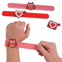 Valentine's Slap Bracelets