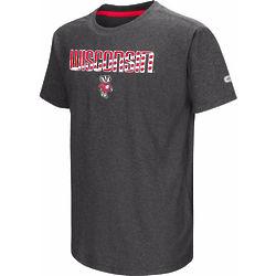 Youth's Bucky Badger Gray T-Shirt