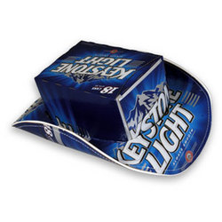 Keystone Light Beer Box Cowboy Hat