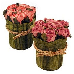 Bridal Candy Flower Pot