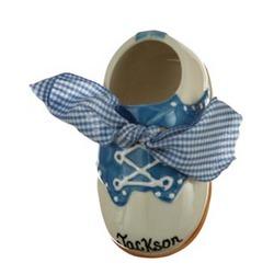 Boy Saddle Shoe Personalized Christmas Ornament