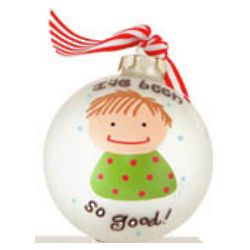 """So Good"" Boy Christmas Ornament"
