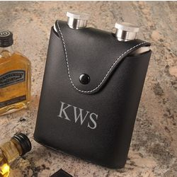 Stainless Steel Double Flask