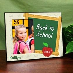 Back to School Engraved Frame
