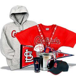 Deluxe St. Louis Cardinals Gift Basket