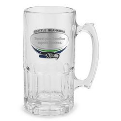 Seattle Seahawks Moby Beer Mug