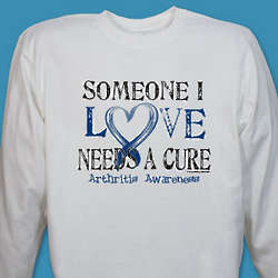 Needs a Cure Arthritis Awareness Long Sleeve Shirt
