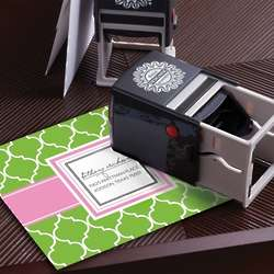 Scripted Signature Personalized Self-Inking Stamper