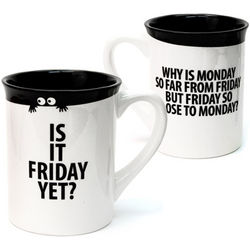 Is It Friday Yet? Ceramic Mug