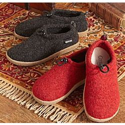 Austrian Boiled Wool Slippers