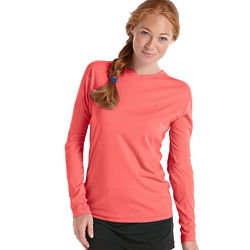 Women's Long Sleeve UPF 50+ Cool Fitness Shirt