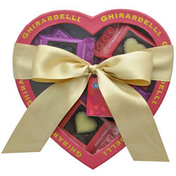Chocolate Impressions Heart Gift Box