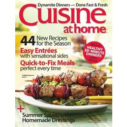 Cuisine at Home Magazine Subscription 6 Issues
