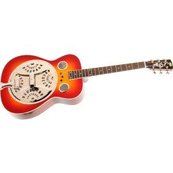 Regal RD-40 Resonator Cherry Sunburst Round Neck Guitar
