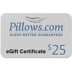 $25 Pillows eGift Certificate