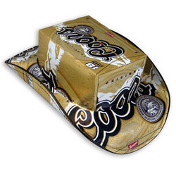 Coors Beer Box Cowboy Hat