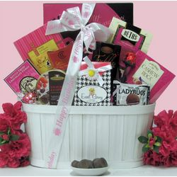 Sweet & Trendy Birthday Gourmet Sweets Gift Basket