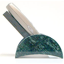 Green Marble Cell Phone Lounge Holder