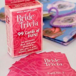 Bride Trivia Game