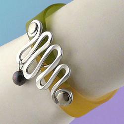Aluminum & Resin Confection Bracelet