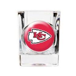 Personalized Kansas City Chiefs Shot Glass