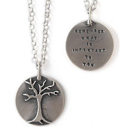 Remember What Is Important Necklace