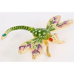 Elegant Dragonfly Trinket Box