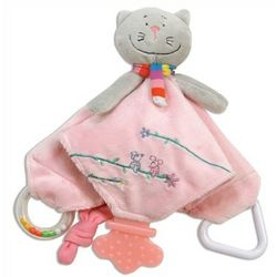 Personalized Keiko Kitty Baby Chew Blanket