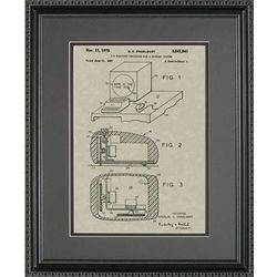 Computer Mouse Framed Patent Art Print