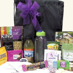 Fitness Guru Gourmet Healthy Workout Gift Basket