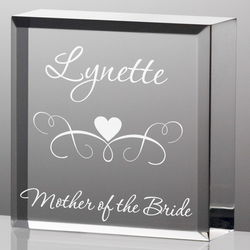 Personalized Mother of the Bride Plaque