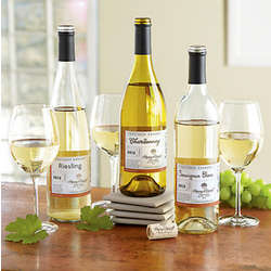 White Wine Trio Gift Box